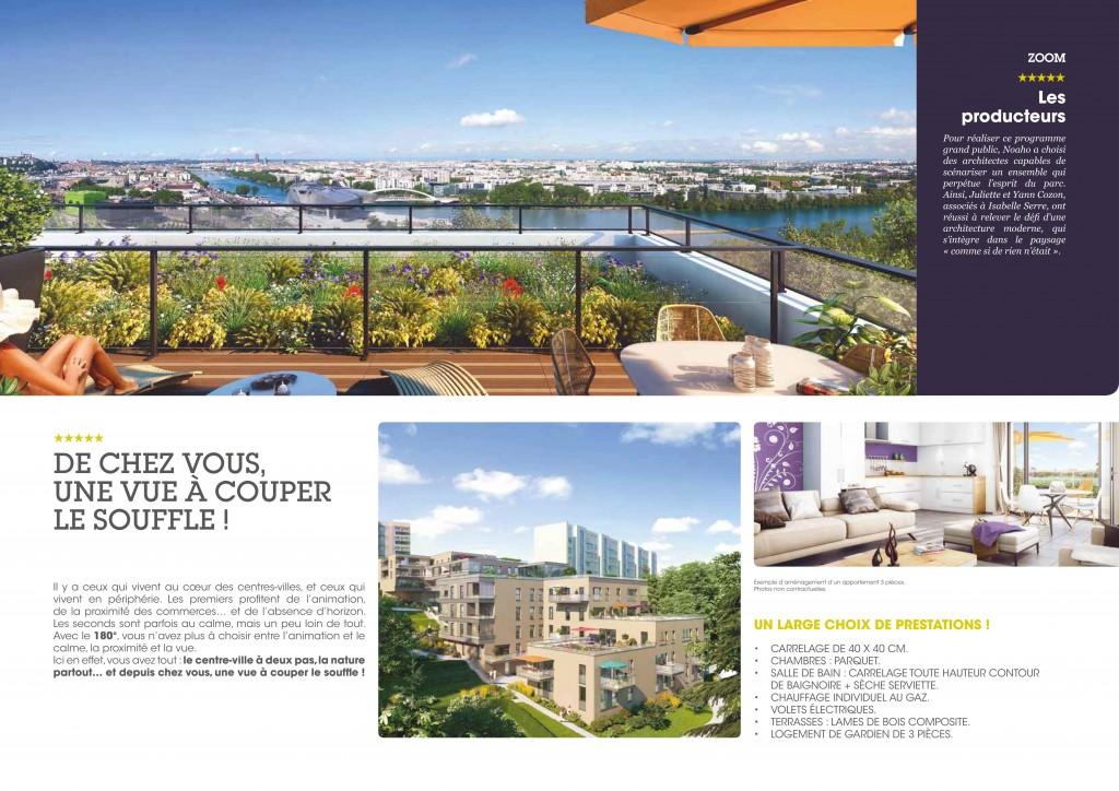180 programme immobilier neuf la mulatiere for Promoteur immobilier maison neuve