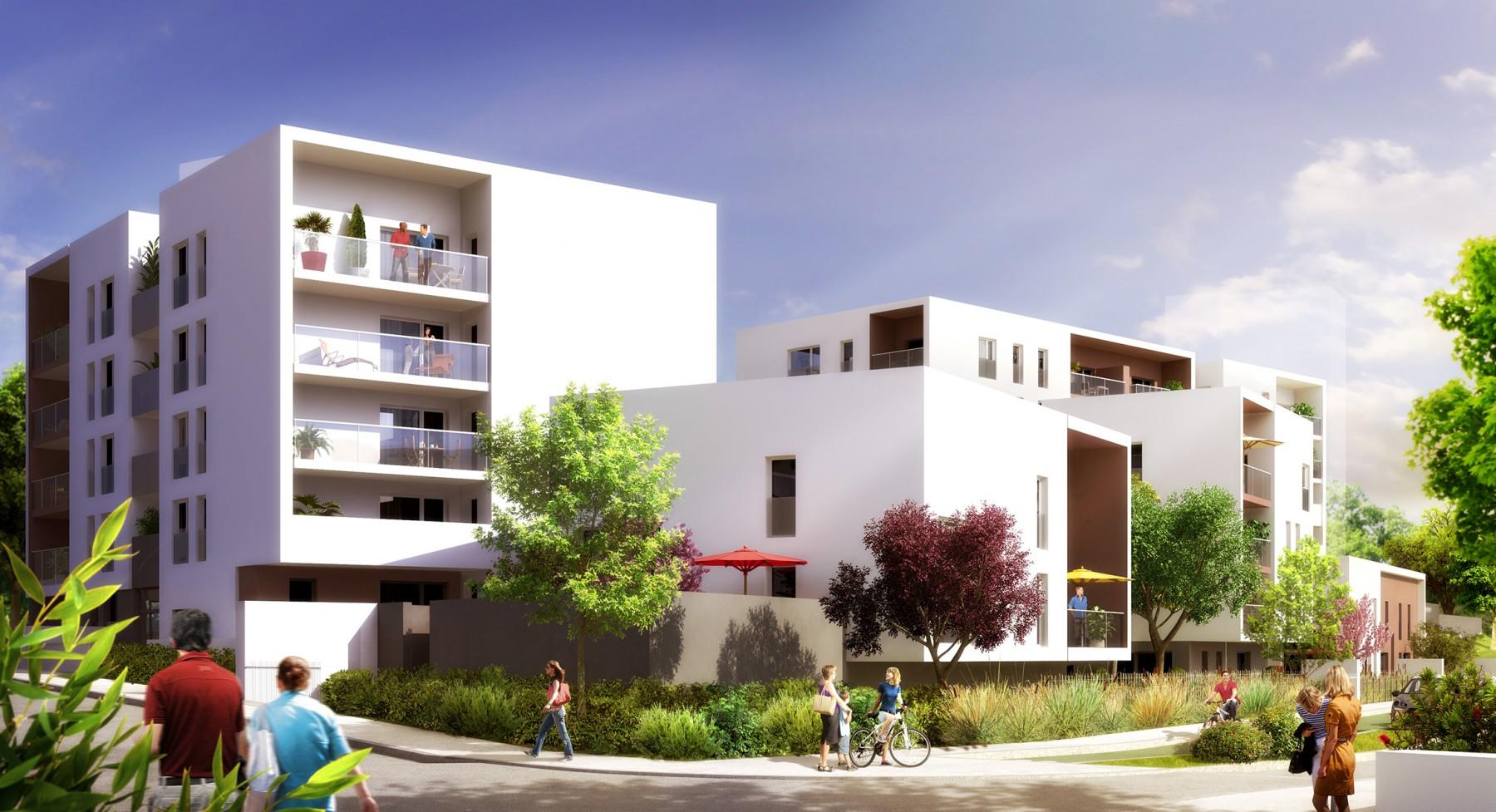 Bo bron le programme immobilier avec des appartements for Appartement original