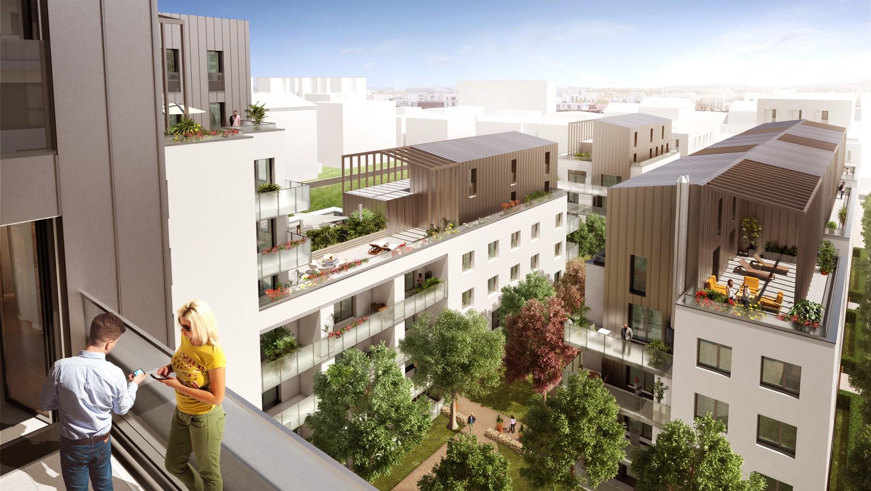 Marius programme immobilier lyon 8 me arrondissement for Programme immobilier