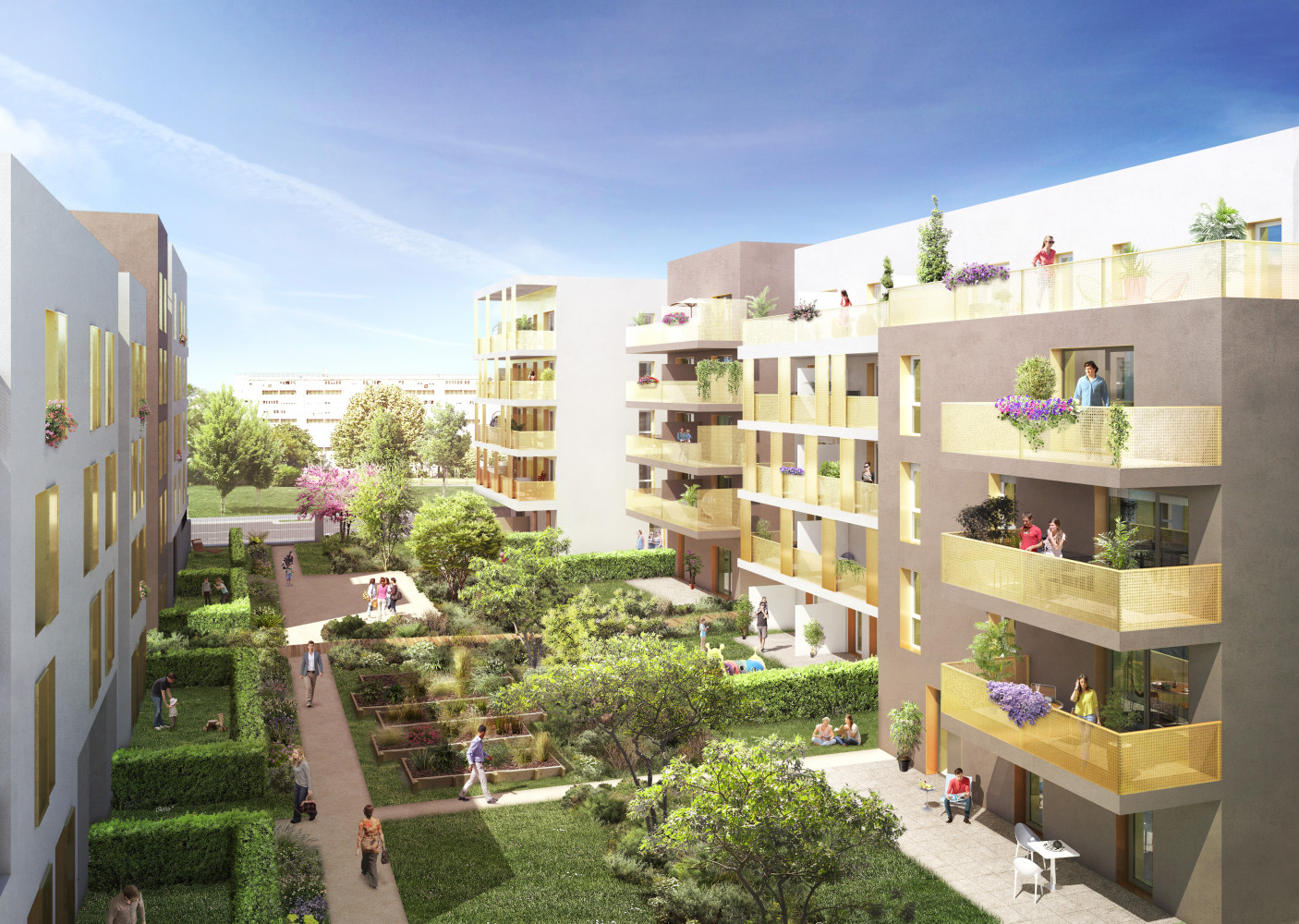 Programme immobilier neuf bron focus projet immobilier for Projet appartement