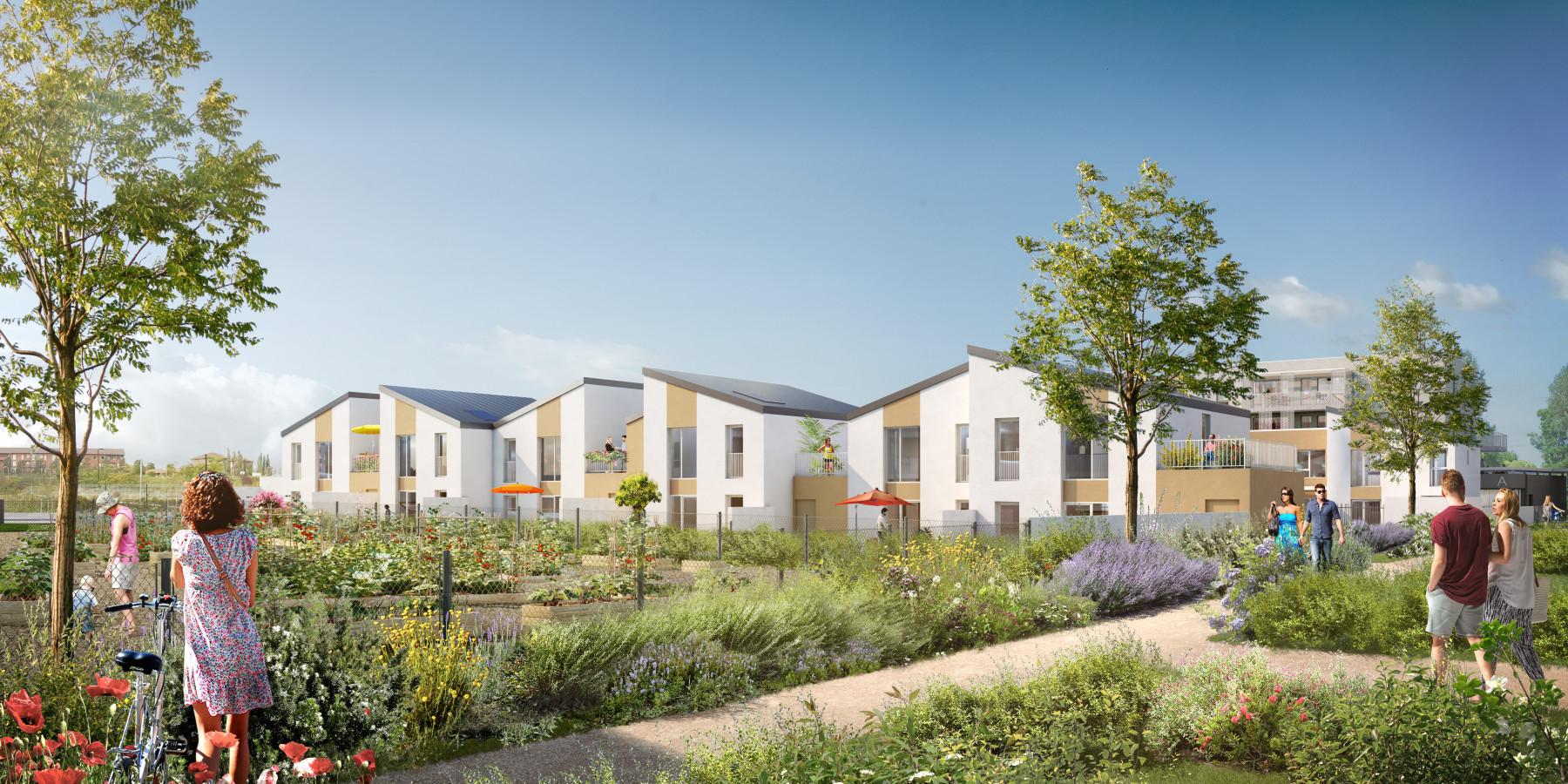 Programme immobilier neuf l 39 isle d 39 abeau d klik projet for Piscine isle d abeau