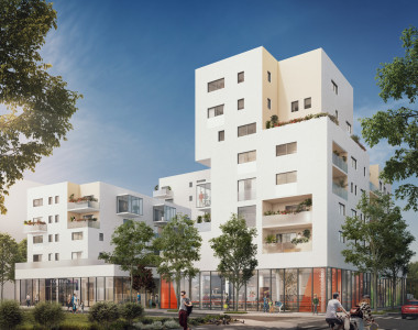 Programme immobilier neuf Vénissieux : Symbioz