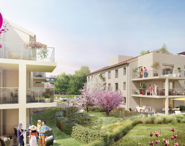 Programme immobilier neuf Charbonnières les bains : RESIDENCE O