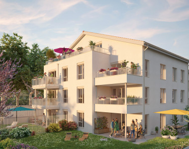 Programme immobilier neuf Saint Priest : IMAGIN