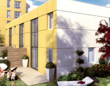Programme immobilier neuf Lyon 9 - Vaise : LE NEW (Vaise)